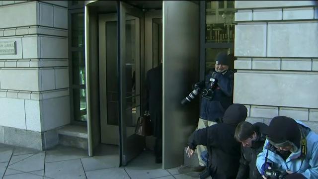 Manfort, Gates arrive for court hearing