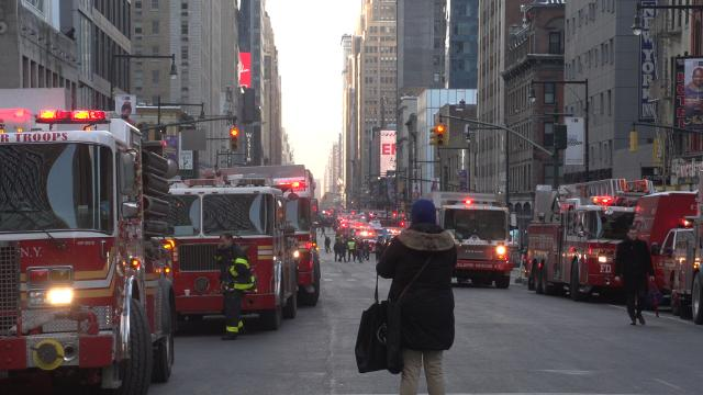 NYC reacts to explosion near Port Authority Bus Terminal