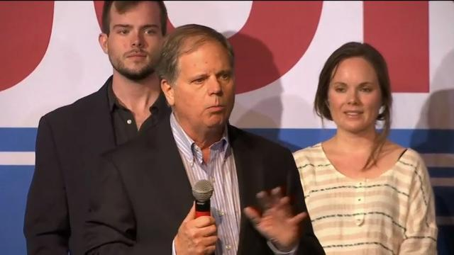 Alabama Senate hopeful Jones holds final rally before election day