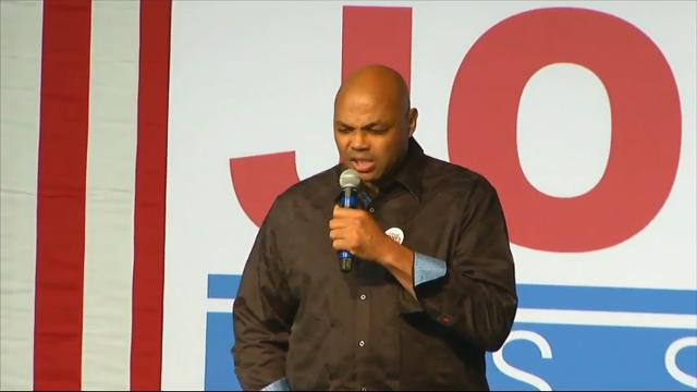 Charles Barkley Campaigns for Doug Jones