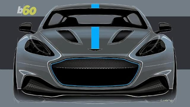 Aston Martin's Electric car doesn't consider Tesla competition
