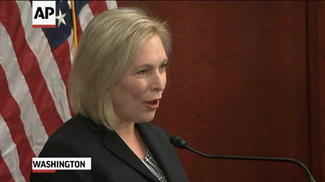 Gillibrand: Trump Tweet is 'Sexist Smear'