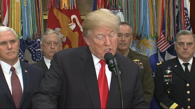 Trump signs NDAA, Thornberry, Inhofe weigh in