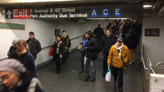 NYC mayor: Subway riders must look for threats