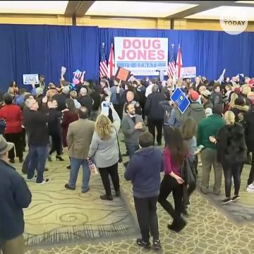 Doug Jones defeats Roy Moore for U.S. Senate seat