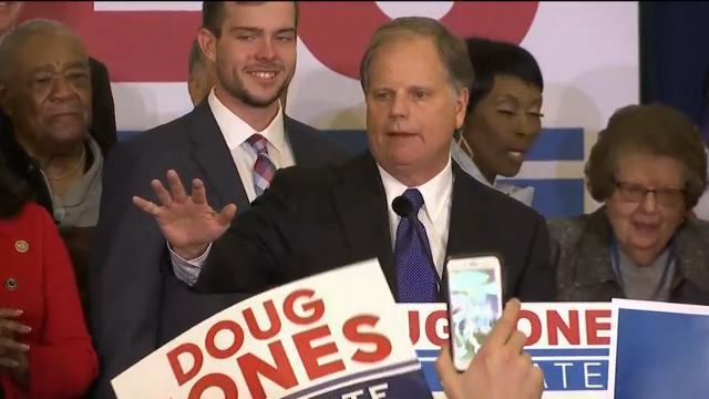 An 'Overwhelmed' Jones Wins Alabama Senate Race