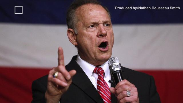 Roy Moore is refusing to concede to Doug Jones, here's why