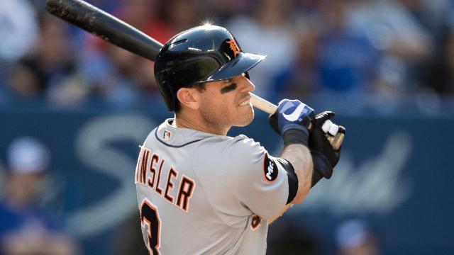Continuing their offseason makeover, the Angels acquired four-time All-Star Ian Kinsler from the Tigers in exchange for a pair of prospects.