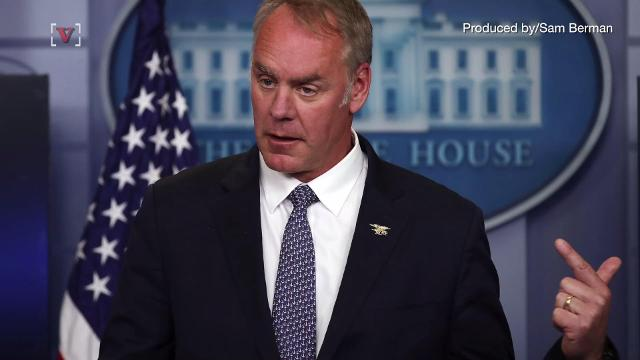 Ryan Zinke fires four Department of Interior employees for harassment