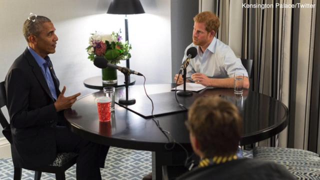 Prince Harry interviews Obama, and the two cracked a few jokes