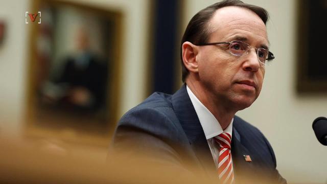Report: Trump calls Deputy AG Rosenstein 'a threat to his presidency'