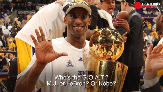 Where does Kobe fit in the conversation for G.O.A.T.?