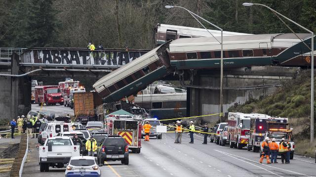 Amtrak sped 50 mph over limit before deadly crash