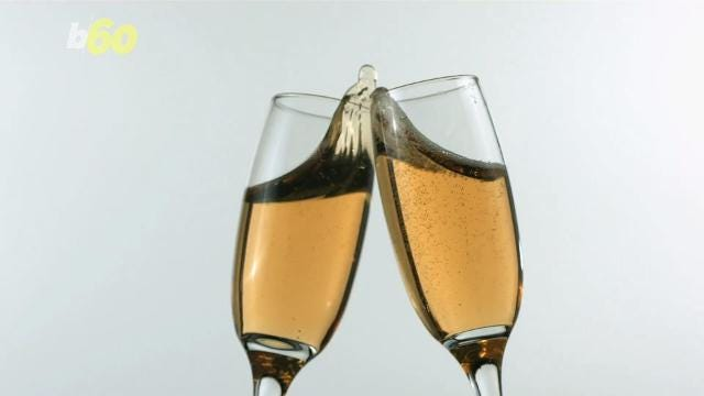 Have you ever wondered why we toast with champagne? Elizabeth Keatinge has the story.