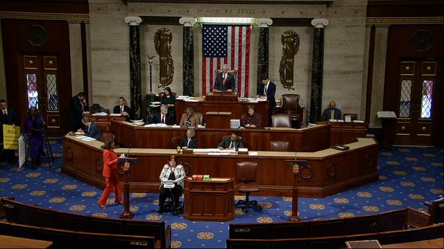 After lively arguments, House passes tax bill