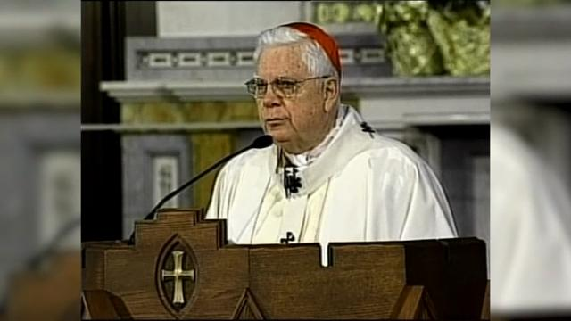 Cardinal Bernard Law, disgraced in scandal has died