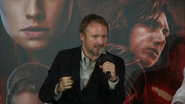 Ridley celebrates 'Last Jedi' gender balance