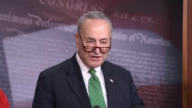 Schumer: Americans have a lot to regret on bill