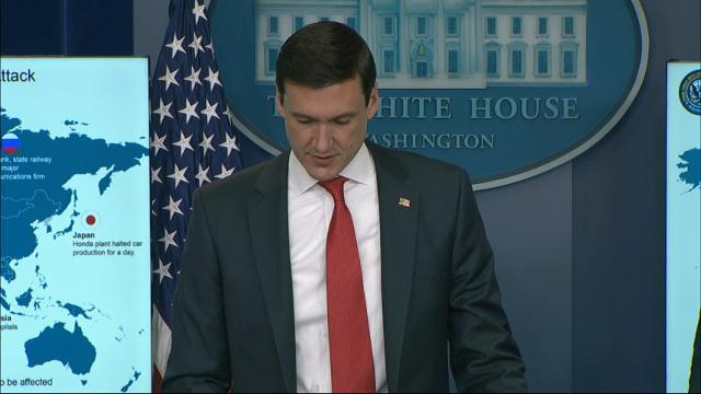 White House: North Korea Behind Malware Attack