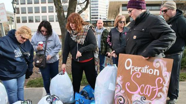 Gift bags left around town to wrap needy in kindness