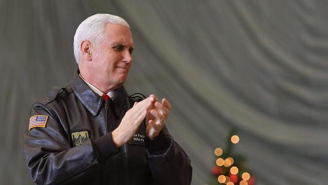 VP Pence Makes Suprise Visit to Afghanistan