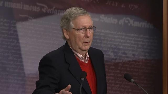 Sen. McConnell Mocks Bannon's 'Political Genius'