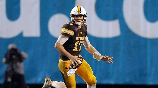 finest selection 09d01 822eb Wyoming QB Josh Allen To Enter 2018 NFL Draft