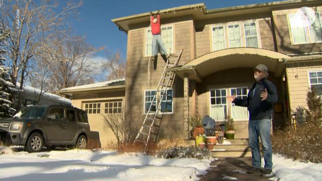 One man's Christmas prank turned into a police matter when neighbors in this Boulder, CO thought a decoration was real.