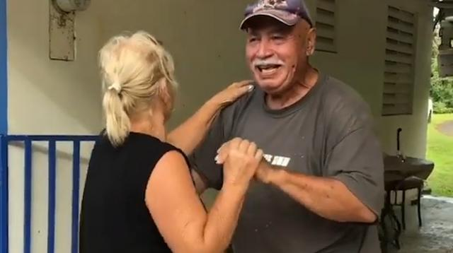 """Despite living without power and running water in hurricane-ravaged Puerto Rico, this couple celebrated 2018 with a dance session. Their granddaughter Erica Dube says, """"My family has taught me the power of positivity and to keep dancing through life."""