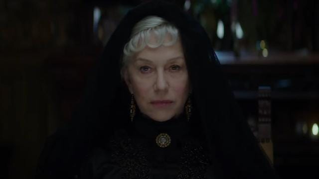 Mirren feisty as ever in haunted-house tale
