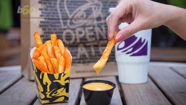 Taco Bell's Nacho Fries are going to ruin a lot of New Year's resolutions. Buzz60's Nathan Rousseau Smith (@FantasticMrNate) shows us the tasty concoction.