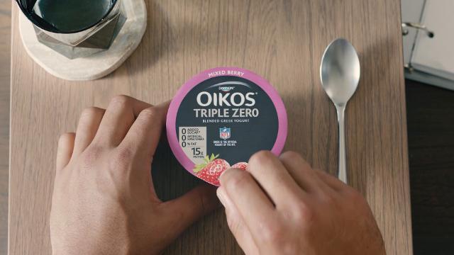 Dak Prescott stars in Oikos commercial