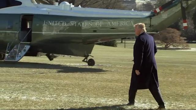 Trump Heads to Camp David GOP Leadership Huddle