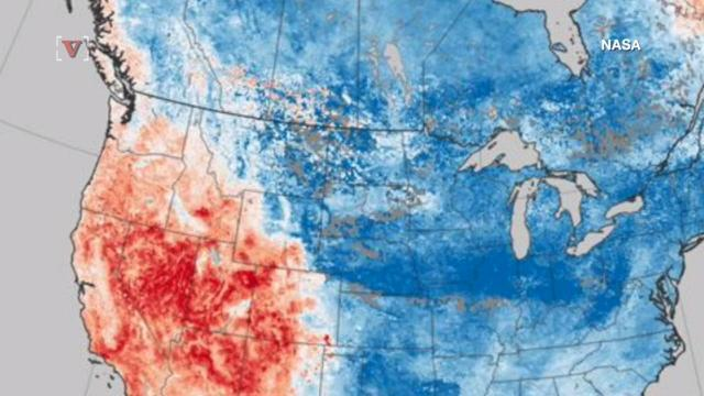 New NASA map shows dramatic effects of climate change