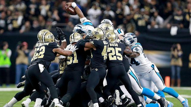The New Orleans Saints defeated the Carolina Panthers 31-26 on Sunday and will now face the Minnesota Vikings next week in the divisional round.