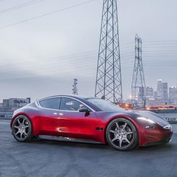 Fisker S First All Electric Car Takes On Tesla Exclusive Details