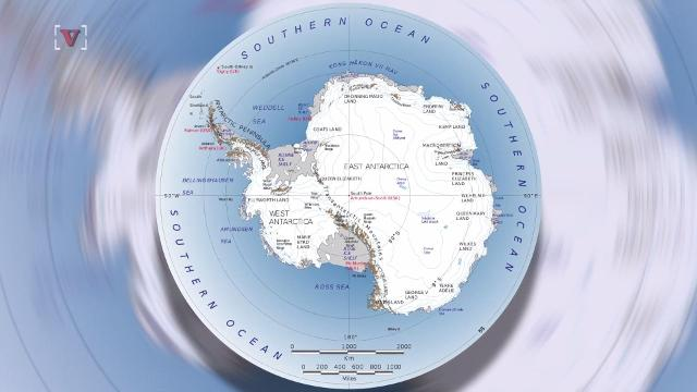 Antarctica ice shelves are melting due to El Nino