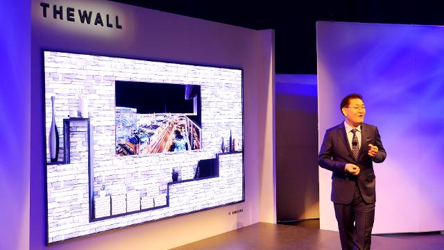 Samsung's 146-inch 'Wall TV' is coming to a store near you