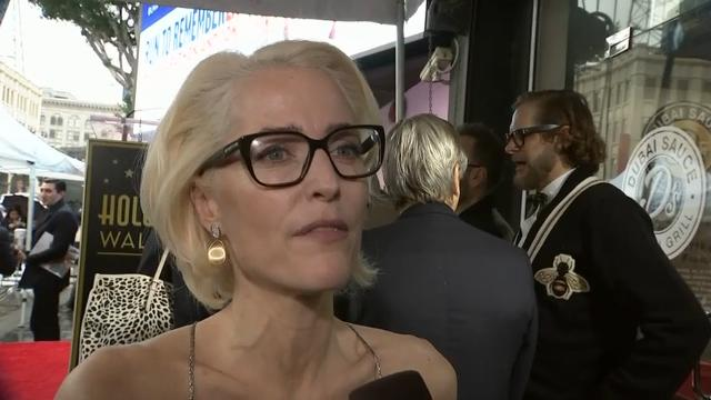 Gillian Anderson: 'President Oprah has my vote'