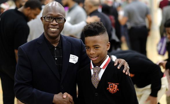 School event makes history with male mentors