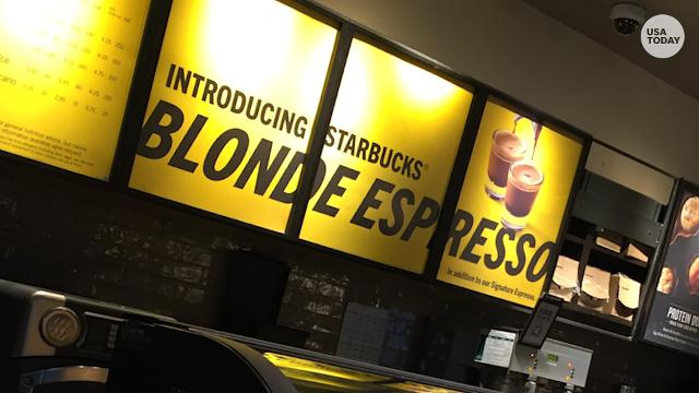 Starbucks introduces Blonde Espresso option in USA stores