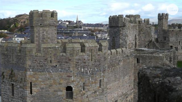 Wales is home to more than 600 castles, including several within a day's march.