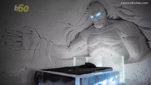 Sleep Like A King In The North This Game Of Thrones Ice Hotel