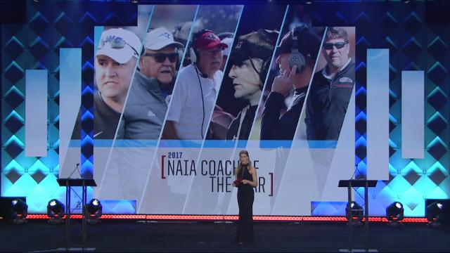 Find out who won all of the AFCA's coach of the year awards at the AFCA Awards Show in Charlotte on Tuesday, Jan. 9, 2018.