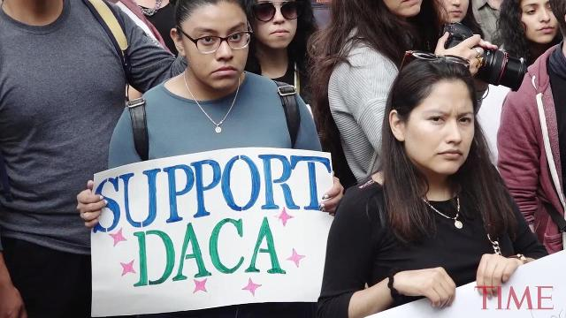 A federal Judge has blocked Trump's plan to end the DACA program