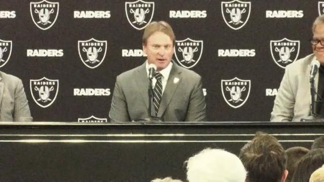 Jon Gruden Returns to Raiders as Head Coach