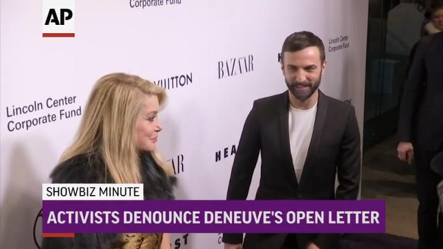 ShowBiz Minute: Franco, Deneuve, McGowan