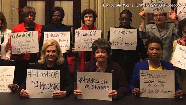 Female lawmakers plan to wear black at State of the Union Address