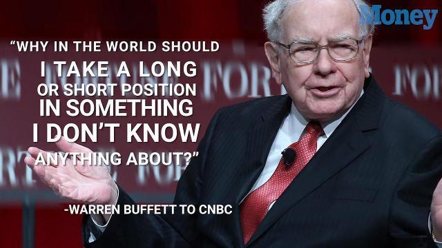 Warren buffett cryptocurrency