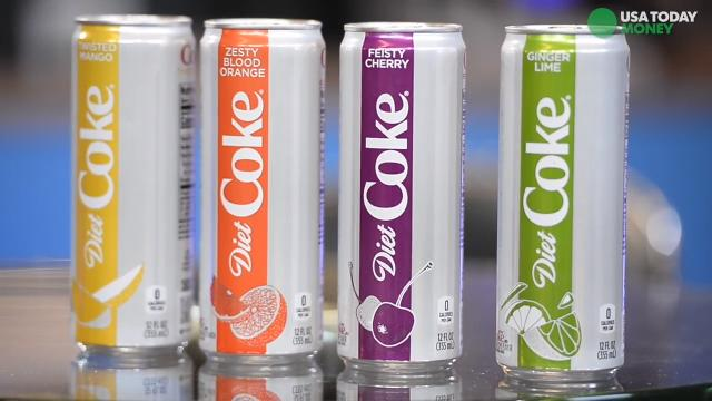 Diet Coke Fizzes Up Its Line Up With 4 New Flavors